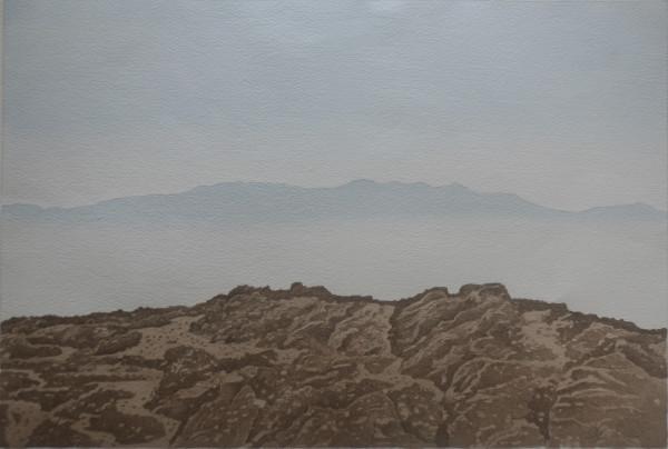 Im Morgendunst, Mykonos