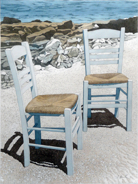 Two Chairs, Mykonos