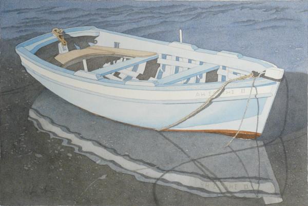 Boot am Fischerhafen, Mykonos