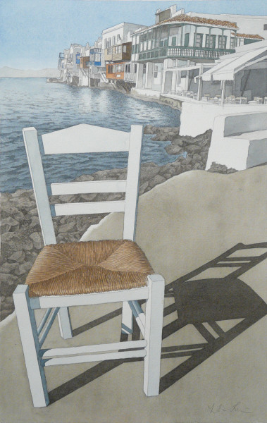 """Little Venice"", Mykonos"