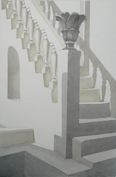 barocker Hausaufgang, Mykonos