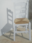 einsamer Stuhl, Mykonos