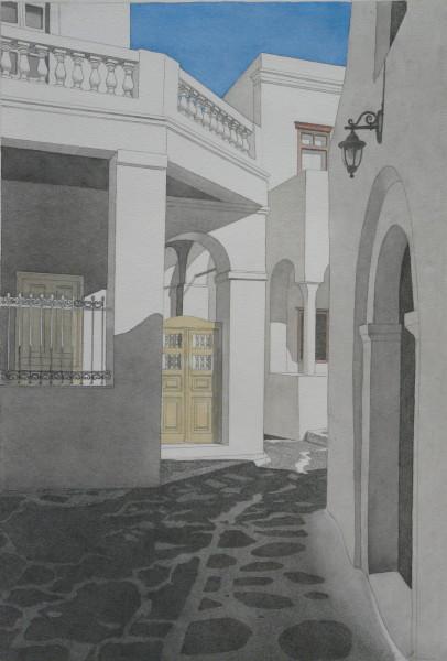 Gasse, Mykonos