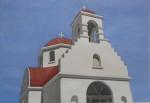 Kapelle mit roter Kuppel, Mykonos