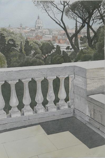 Blick vom Schloss Schönbrunn, Wien