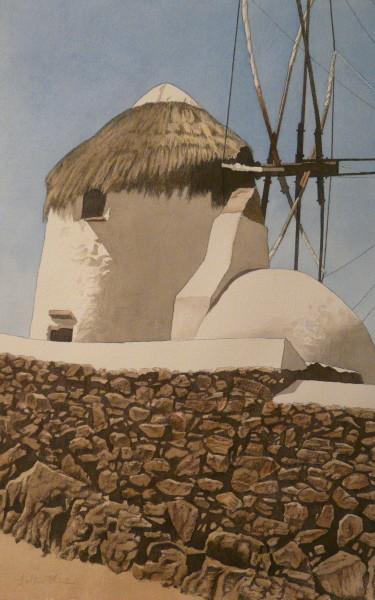 Windmühle, Mykonos